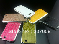 free shipping promotion price  Hard case Stone pattern crocodile case for N7100 100pcs/lot