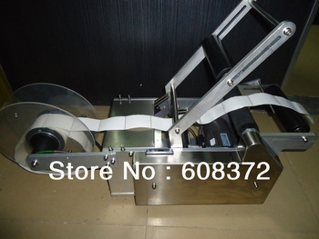 Semi-Automatic Round Bottle Labeling Machine with Pedal switch/ Automatic Labeler Machine bottle packing machine