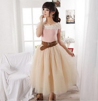 Designer model,adult girl's fashion pettiskirt,length:70cm,fluffy mesh,3 pcs/lot,quality workmanship,woman' tutu clothes