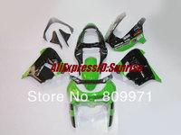 K263 Classical green black full  Fairing for KAWASAKI ZX9R 98 99 ZX-9R 1998-1999 ZX 9R 98 99 1998 1999 + 2 free gifts