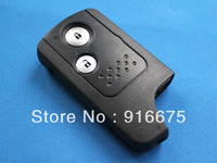 New intelligent stove pipe 2 button car key shell send small key For Honda