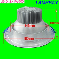 free shipping 100pcs/lot Epistar 12W downlight led recessed light equal to 120W LED recessed lamp 12W ceiling lamp soft lighting