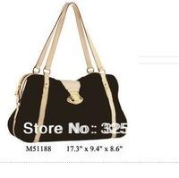 Wholesale Monogram Canvas M51188 STRESA GM Women Lady Shoulder Hobo Tote Travel Bags Designer Handbags