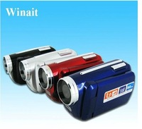 "DHL/EMS free shipping for Max. 12MP 1.8"" TFT LCD Digital Video Camera with 2PCS LED Flash Light: OEM factory"