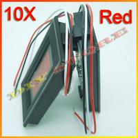 """10pcs/lot 0.56"""" Digital Voltmeter 0-99.9V Red LED Digital Panel Meter Voltage 0V to 99V +Free shipping-10000331"""