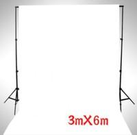 photographic equipment 3m x 6m 100% Cotton Chromakey white Screen Muslin Background Backdrop