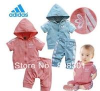 Комплект одежды для девочек ahsakdalshjalk suit Baby clothes baby wear kids' suit baby suit boys beach boy Retail the retail 1pcs