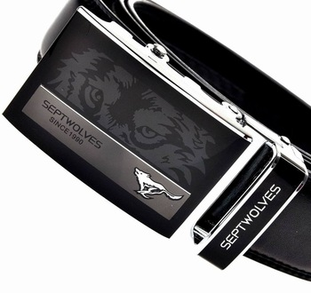 men genuine leather belt automatic buckle belts for men luxury leather 8styles