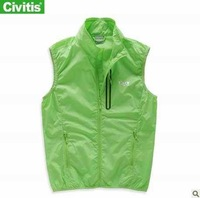 Free shipping Civitis  waterproof  Quick Dry windbreaker  women vest fashion sleeveles outdoor jacket  12280