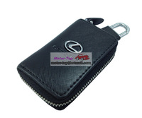 Black Leather Cover Remote Key Case Bag For LEXUS IS F ES GS LS RX LX GS350 RX450h ES350 GX460 IS250 IS350 LFA RX350 ES350 GS350