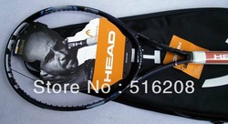 Free shipping Sporting Goods Head carbon tennis racket good quality branded Maria Sharapova tennis racket Q578(China (Mainland))