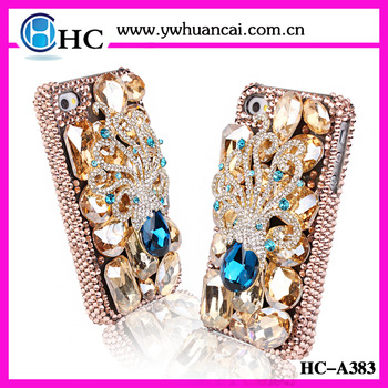 "FREE SHIPPING ! Luxury crystal phone case for iphone 5 5"" jeweled mobile cover"
