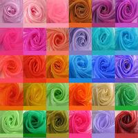 Wholesale 100% Nylon Fabric Wedding Arch Fabric Decoration 145CM Width 100colors Free Shipping