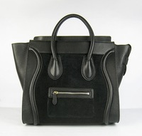 2013 New arrival best quality office lady fashion handbag black