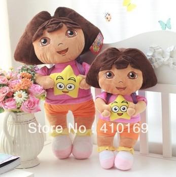Free shipping.baby/children/kid stuffed/Plush toy, dora plush toy doll