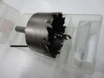 Wholesale Tungsten Steel Hole Saw Metal Cutting W/ Twist Drill bit &Spring, MOQ>=15milimeters