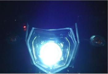 The motorcycle headlight GSR headlights fierce beast headlights assembly bracket included