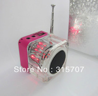 wholesale prices ! portable multimedia mini speaker for mobile phone/pc/desktop/mp3/dvd player/sd card