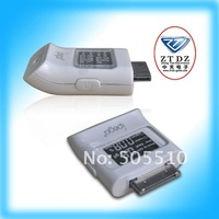 Free shipping!!Alcohol tester for iphone/ipad/ipod in white color pass CE