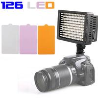 HD-126 LED Video Lamp Light Camera Lighting for Canon Nikon DSLR