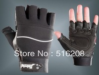 Fitness non - slip fitness training sports men and women half finger gloves free shipping Q628