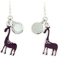 New Arrival! Wholesale vintage punk cool alloy 3-color deer drop earrings, vintage, retro, free shipping