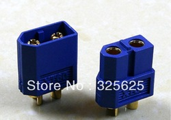 Free Shipping 10pairs blue RC battery connector XT60 Plug RC battery Connector(China (Mainland))