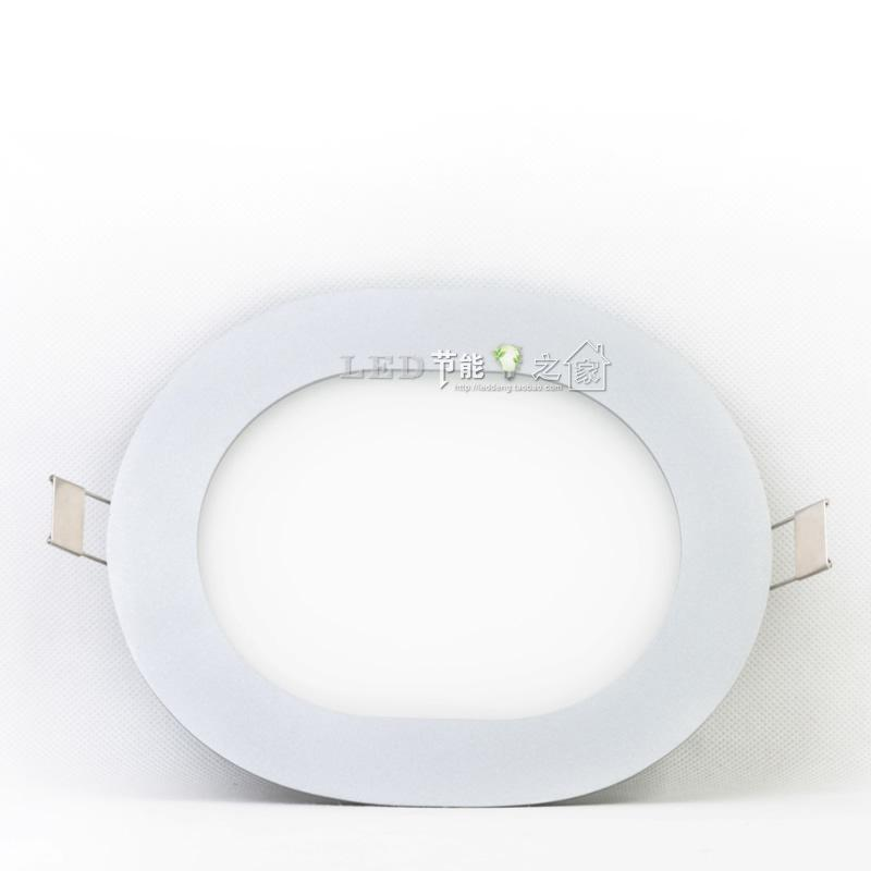 Free Shipping LCL Led panel lights oval shape led panel light quality led lighting 12w(China (Mainland))