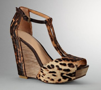 new arrive  Sexy  high heels  140mm  Leopard  Sheep suede + horsehair fashion  women shoes