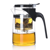 Make elegant cup tea pot kung fu tea cup glass sag-08 500ml