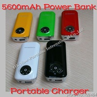 Special Offer 5600Mah Power Bank Portable Emergency Charger For iPad, iphone, Samsung, Nokia Drop Shipping
