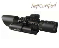 M9C 3-10X42E Mil-Dot hunting rifle scope+red laser /Tactical Optics Scopes/Riflescope