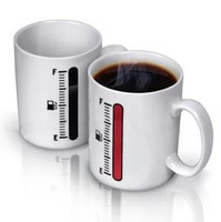 48pcs/lot Thermometer Mug Cup Temperature Changing Free shipping+Wholesale