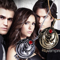 Wholesale fashion Movie Jewelry 2012 Vampire Diary Elena Vervain Box Pendant Necklaces.free shipping.