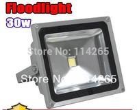 Available DHL/EMS/UPS/Fedex ship AC85-265V 2800LM brightness 30W Waterproof  Warm White/Cool White high power LED Flood lights