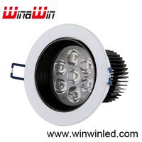 Hot Selling 7w Led downlight Warm white/White 3pcs/lot