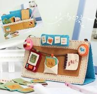 Handmade DIY Time Machine table calendar,Polypropylene nonwoven fabric DIY calendar,Via free shipping
