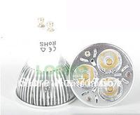 10X 3W  E27 220V Plug Led Light Warm Pure White Light Bulb Lamp