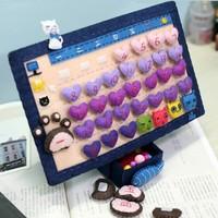Handmade DIY Behaved cat calendar,Polypropylene nonwoven fabric Handmade DIY calendar,Via free shipping