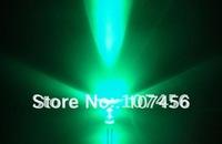 100pcs/lot free shipping!!! 5mm flashing Green LED(10000mcd)5mm blinking green led 5mm light-emitting diode