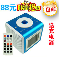 Totipotent ds-520 card mini speaker insert card speaker recording radio remote control mp3 player portable speakers