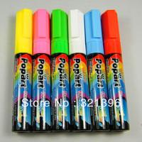 Fluorescent marker pen, POPART marker pen, highlighter marker 80pcs a lot, nib size 5mm