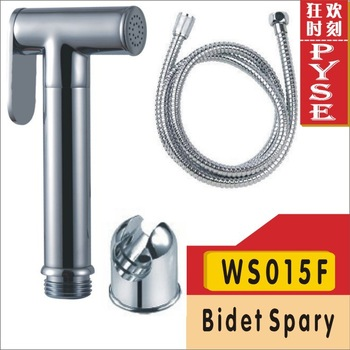 Free shipping WS015F brass shower bidet shattaf set bidet spray shattaf bidet spray