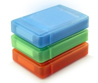 5Pcs/Lot Portable HDD Storage Box Store Tank Protection Case for 3.5 inch Hard Drive +Free Shipping