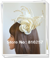 Free shipping  9color  high quality  sinamay fasinctor hats,nice bridal hair accessories/party hats/cocktail hats,FS53
