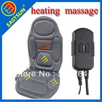 EASTSUN Universal Black Polyester CE EMARK Certification AUTO Car Seat Heating Warming  Massage Cushion