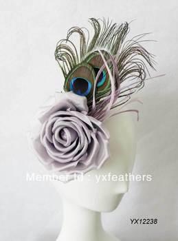Fashion ladies fascinator,feather fascinator,hair accessories