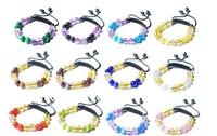 disco formation bracelet OPAL acrylic bracelet jewelry unisex bracelet
