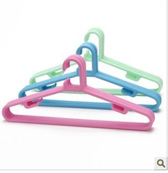 Creative household man adult solid plastic hanger firm and durable(China (Mainland))