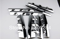 Free shipping! 8 pcs ABS chrome  Front Grill Trim for Qashqai